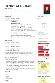 Medical Doctor Resume samples