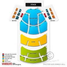 Aronoff Center Seating Chart Aronoff Center Procter And
