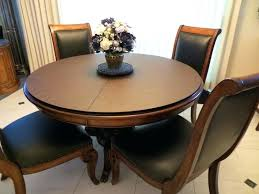 round table extender top best home design ideas