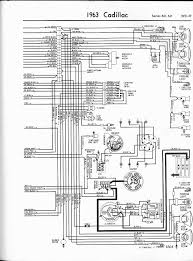 cadillac wiring diagrams 1957 1965 1963 series 60 62 left