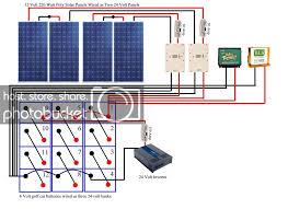 solar panel battery bank wiring data wiring diagram