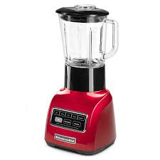 kitchenaid ksb755ca 5 sd blender w 48 oz glass pitcher accessory jar apple red