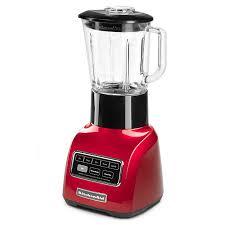 kitchenaid ksb755ca 5 sd blender w 48 oz glass pitcher accessory jar apple red