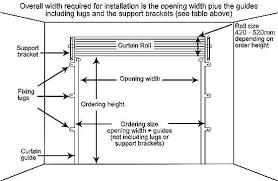 Industrial Garage Door Width Dimensions Roller Shutter