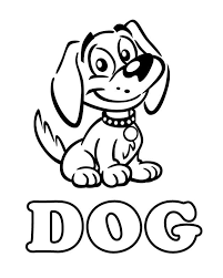 Kids can play with an array of colors and paint on these sketches which may appear both cartoonish as well as prairie dog coloring page. Dog Free Printable Coloring Pages Puppy Coloring Pages Animal Coloring Pages Dog Coloring Page