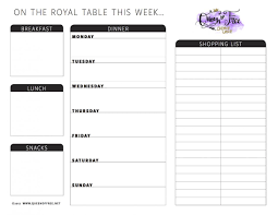 Wedding Meal Planner All New Free Printable Meal Planner You Can Edit Queen Of