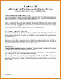 How To Write A Business Resume Template Analyst Experience In For