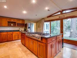 Kitchen With Granite Traditional Kitchen With Simple Granite Flat Panel Cabinets In