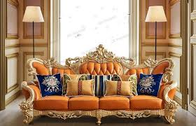 modern living room sofa set design in