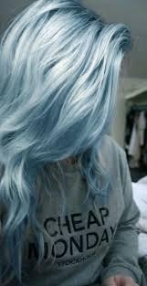 Pastel Light Blue Hair Love The Metallic Hair Styles Hair Color Blue Dyed Hair