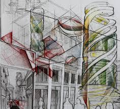 Architectural Design Presentation Techniques Freehand Architecture