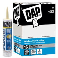 Best Caulk For Trim Dap Dynaflex 230 101 Oz Premium Indoor Outdoor Sealant 18275