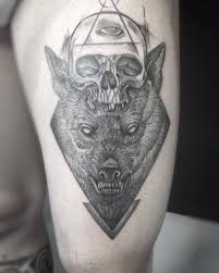Il Bue Tattoo Wolf Skull Allseeingeye Geometry