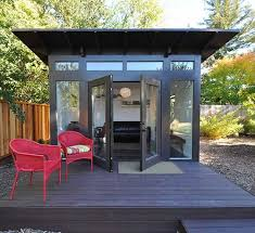 backyard office plans. 9 Sources For Midcentury Modern Sheds - Prefab, DIY Kits, And Plans Retro Renovation. Backyard OfficeOutdoor Office