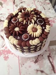 Chocolate Cake Decoration Ideas Simple Also Simple Chocolate