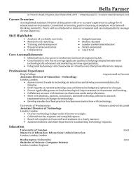 Assistant Director Resume Best Education Assistant Director Resume Example LiveCareer 1