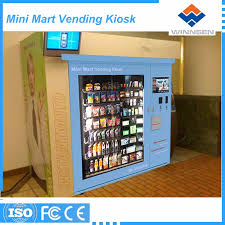 Kiosk Vending Machine Magnificent Multi Goods Mix Selling Vending Machine Kiosk For Consumer