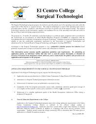Tech Resume Templates New Surgical Throughout Perfect Resume