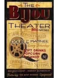 Bijou Seating Chart Theater Signs