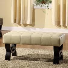 ... Top Notch Home Furniture Ideas Using Small Tufted Ottoman : Impressive  Home Furniture Ideas Using Cream ...