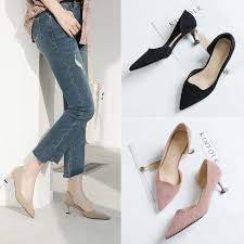 <b>2019</b> Spring New Women'S Shoes High Heeled Women'S Autumn ...