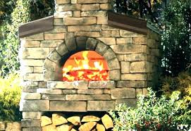 fireplace pizza oven insert outdoor wood inserts with kits combo