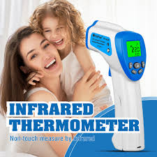 HoldPeak Handheld Non-contact <b>Digital</b> IR Thermometer Infrared ...