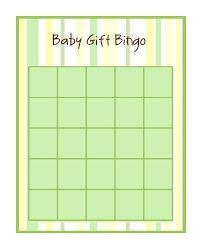 Free Printable Baby Shower Bingo GameBaby Shower Bingo Cards Printable
