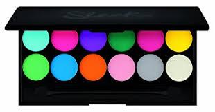sleek make up i divine 12pc mineral eyeshadow palette v1 ultra mattes brights