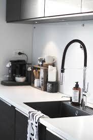Black N White Kitchens 17 Best Ideas About Black Kitchen Sinks On Pinterest Black Sink