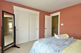 Baltimore Closet Doors Sliding Bedroom Craftsman With Rectangular Floor  Mirrors Rose Walls