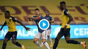 Copa America 2021 Colombia vs Ecuador ...