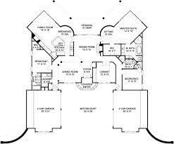 half mediterranean house plans two