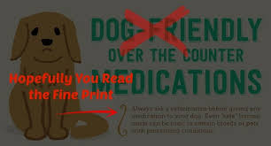 Dog Friendly Over The Counter Medications Chart Warning Popular Infographic Dangerous For Pets Mesa