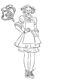 Free Descendants Coloring Pages Wicked World Carlos Printable