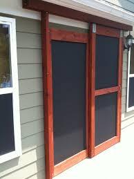 clever sliding screen door installation anderson andersen breezeway of milgard