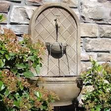 smart ideas outdoor wall fountains modern home water and features clearance large