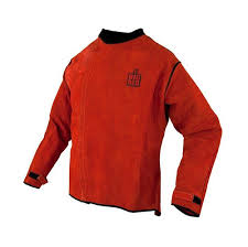picture of the big red welders jacket