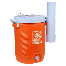 Home Drinking Water The Home Depot 5 Gal Orange Water Cooler 1787500 The Home Depot
