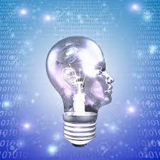 Binary Light Bulbs Head Light Bulb With Binary
