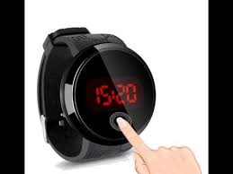 Luminous <b>LED Watch</b> sport <b>military</b> Touch Screen Silicone Sports ...