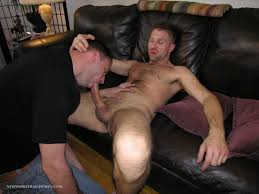 Straight man with big cock