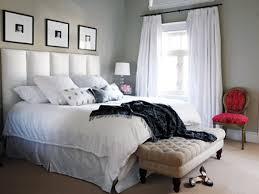 Master Bedroom Sitting Area Photos Hgtv Midcentury Modern Blue Armchair In Coastal Bedroom