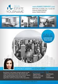Real Estate Brochure Template Free Download The Real Estate Free Flyer Template For Photoshop