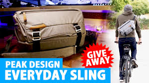 peak design s everyday sling bag the review giveaway