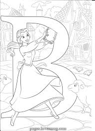 Disney princesses belle coloring pages. B For Belle Pages Lovesmag Com Belle Coloring Pages Disney Coloring Sheets Disney Princess Coloring Pages