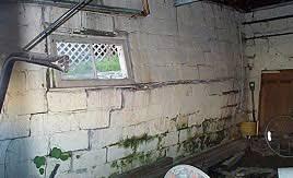 basement wall repair for ed or