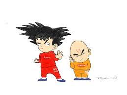 Krillin - Goku And Krillin Supreme ...