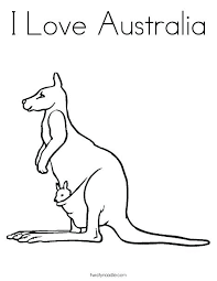 Printable Australian Flag Flag Coloring Page Flags To Colour In