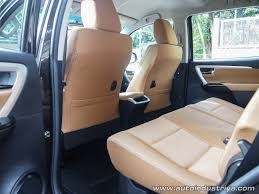 2016 toyota fortuner 2 7g at